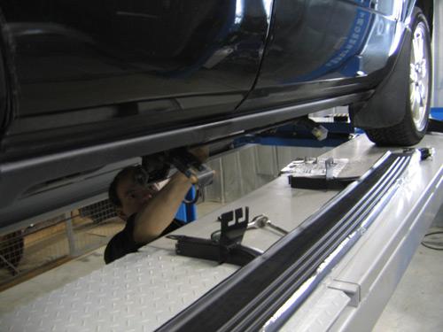 Замена масла в двигателе мурано